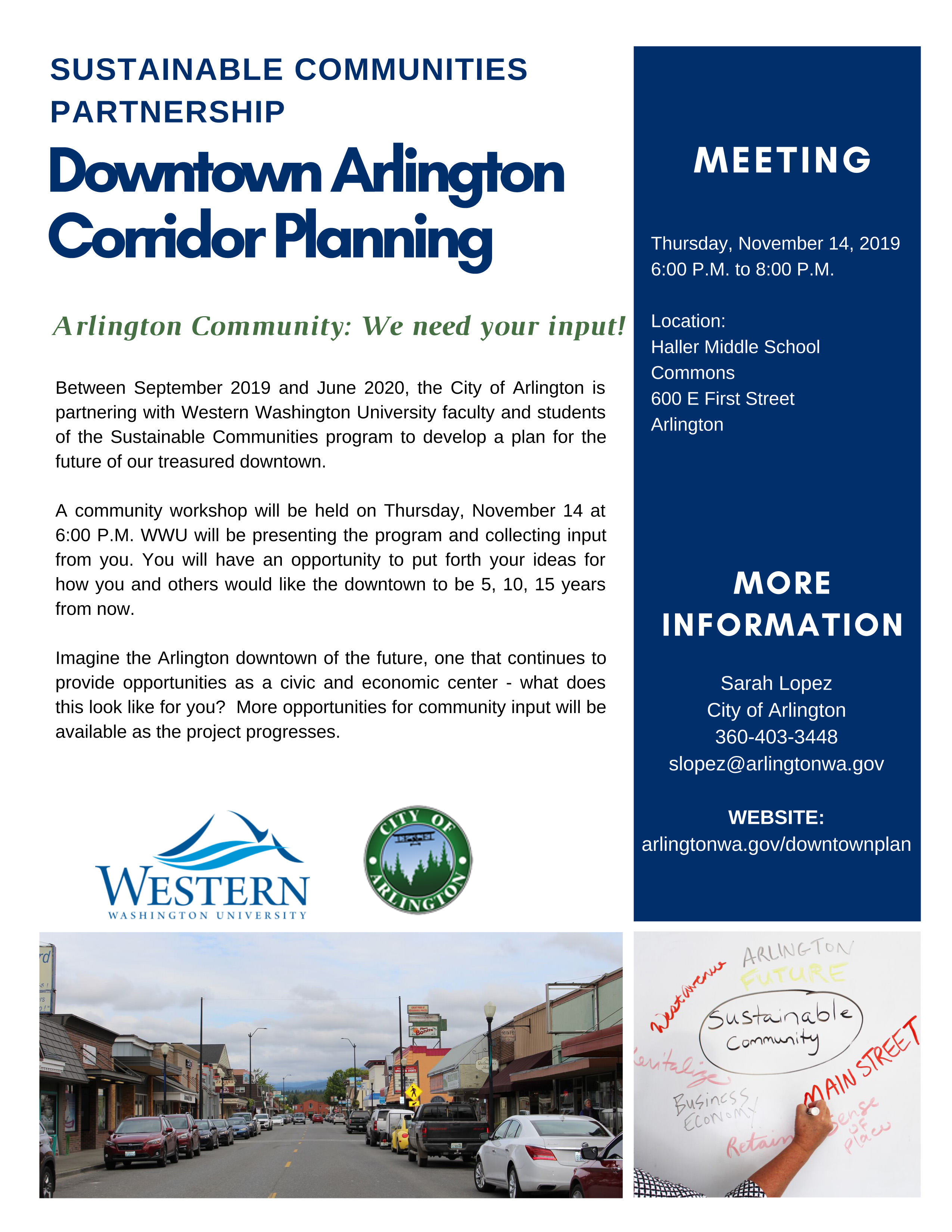 Sustainable communities Nov 14 meeting