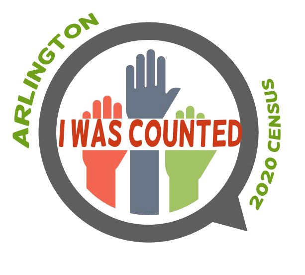 ARLINGTON census sticker