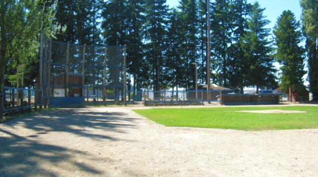 W.E. Evans Park Baseball Diamond
