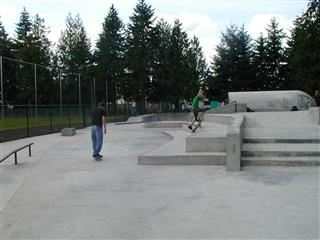 People Using Skate Park
